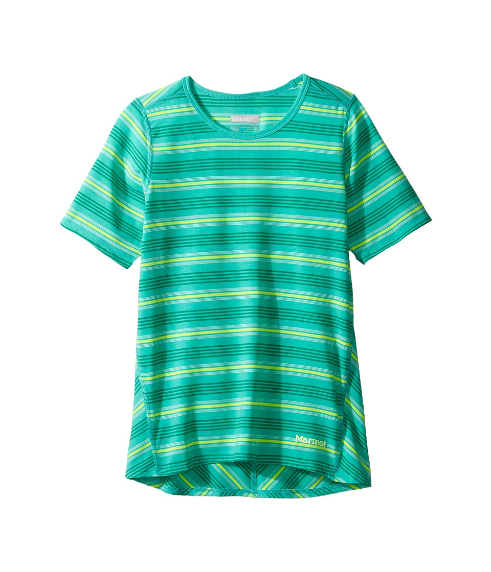 Marmot Kids - Gracie Short Sleeve Shirt (Little Kids/Big Kids) (Frost) Girl's T Shirt