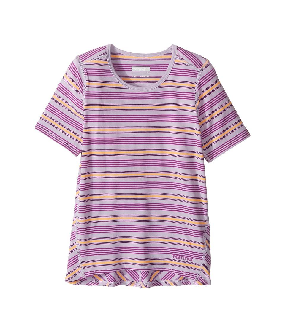 Marmot Kids - Gracie Short Sleeve Shirt (Little Kids/Big Kids) (Orchid) Girl's T Shirt