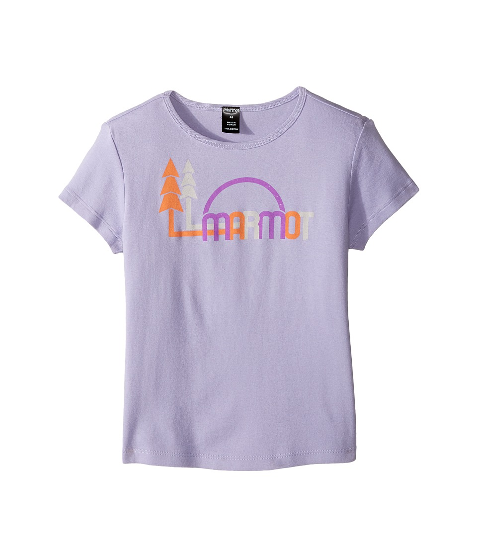 Marmot Kids - Scout Short Sleeve Tee (Little Kids/Big Kids) (Orchid) Girl's T Shirt