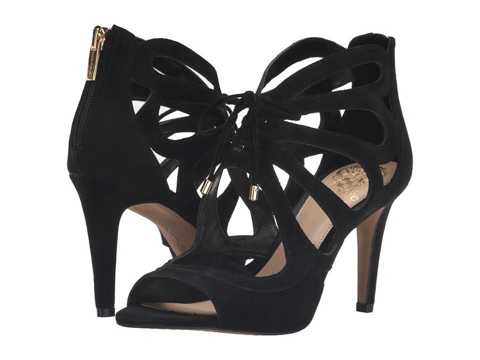 Vince Camuto Calivia (Black True Suede) High Heels