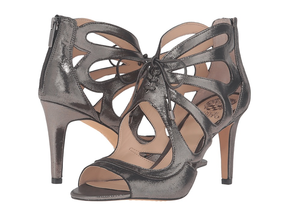 Vince Camuto - Calivia (Titanium Powdered Glitz Suede) High Heels