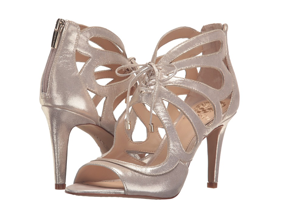 Vince Camuto - Calivia (Champagne Powdered Glitz Suede) High Heels