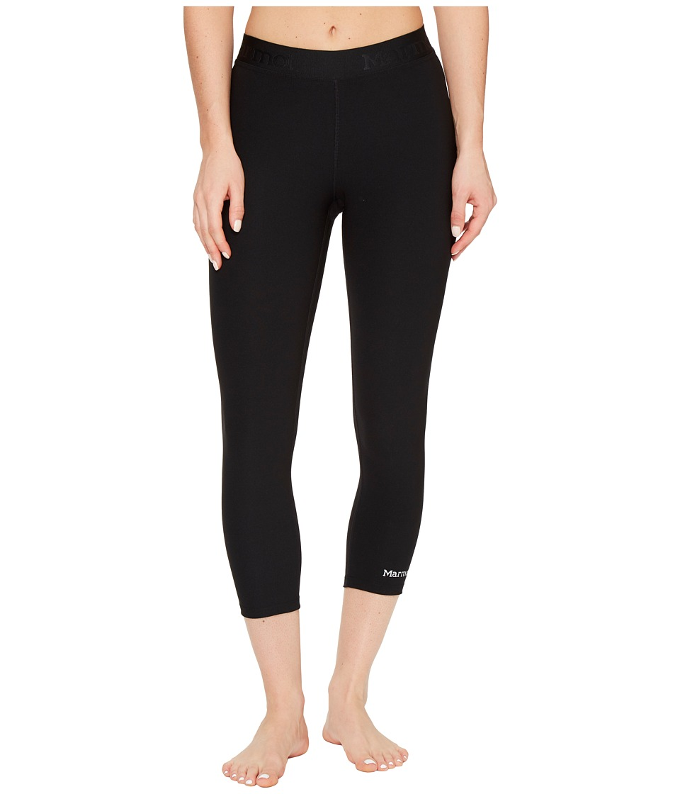 Marmot Pump Up Capris (Black) Women