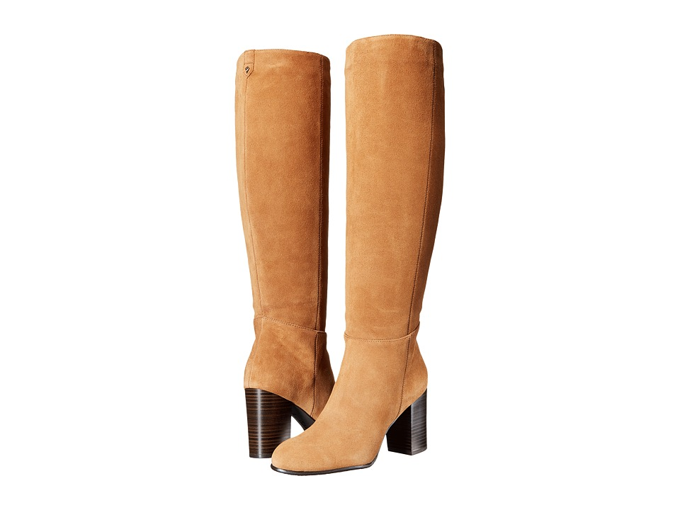 Sam Edelman - Silas (Golden Caramel Tumbled Nubuck Leather) Women's Shoes