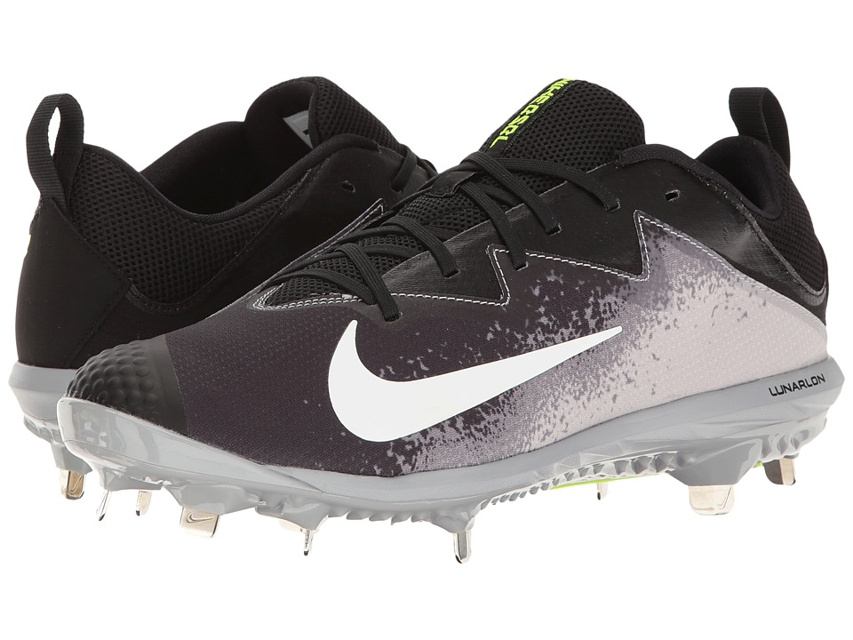 Nike - Vapor Ultrafly Pro (Black/White/Wolf Grey/Cool Grey) Men's Cleated Shoes