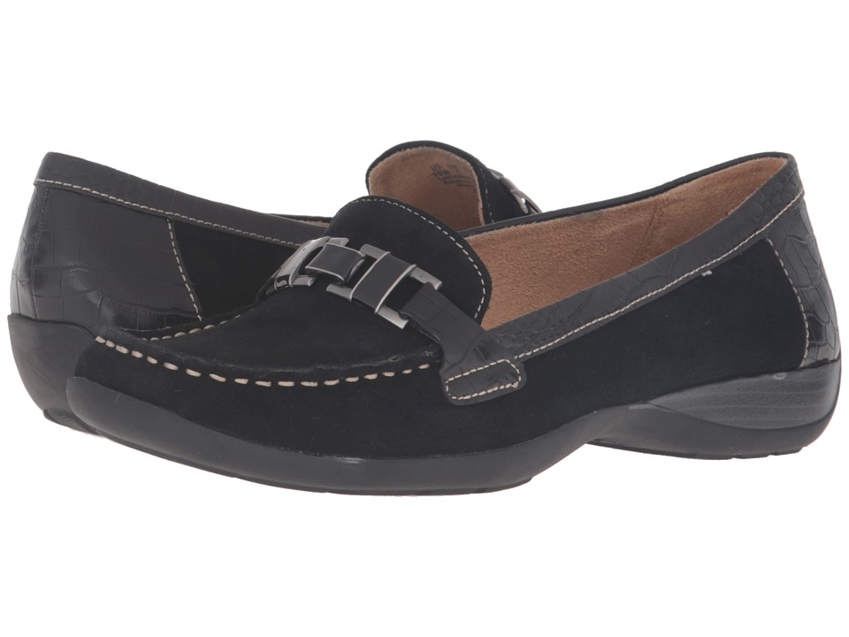Naturalizer - Camille (Black Croc) Women