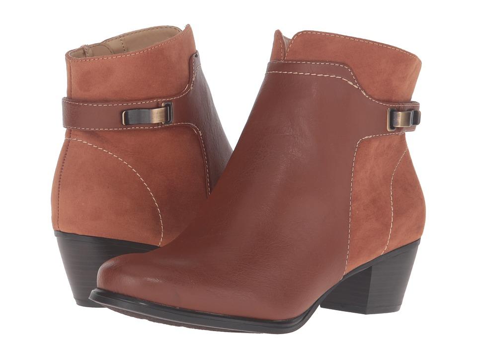 Naturalizer - Klip (Cognac) Women's Shoes