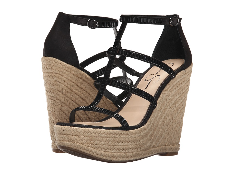 Jessica Simpson Adelinn (Black Dusty Metallic) Women