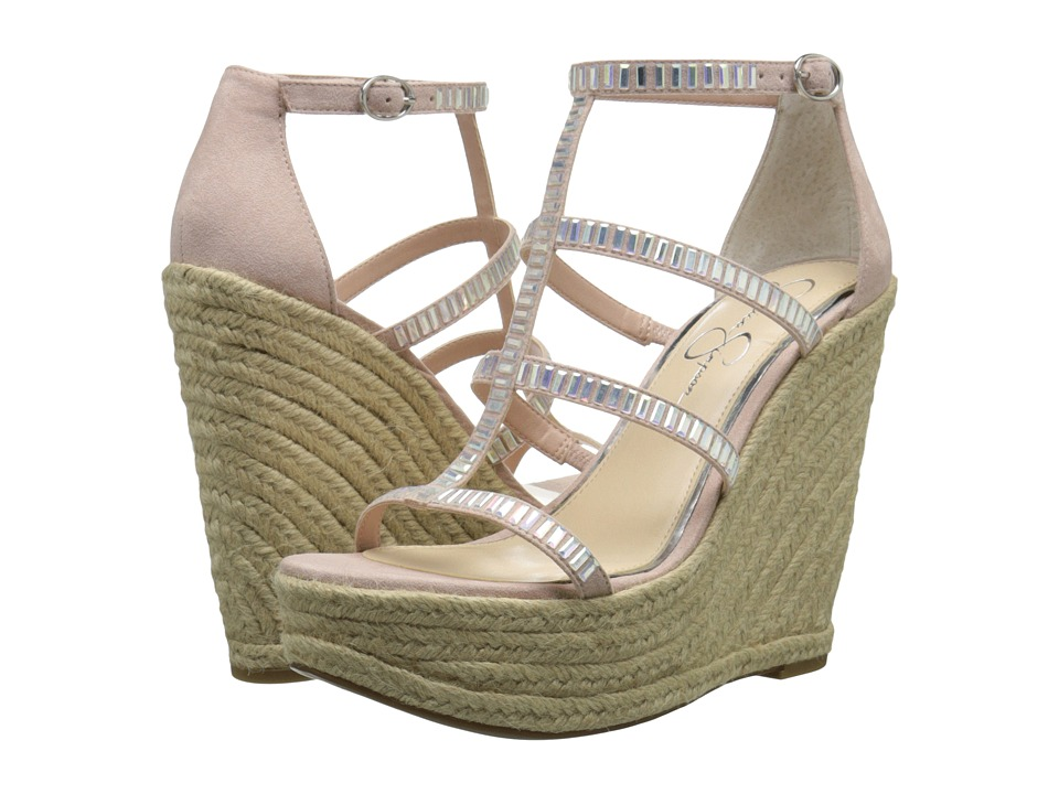 Jessica Simpson - Adelinn (Nude Blush Microsuede) Women's Shoes