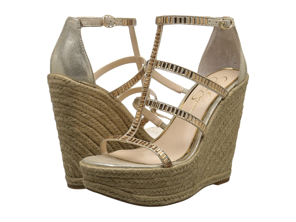 Jessica Simpson Adelinn (Pale Gold Dusty Metallic) Women
