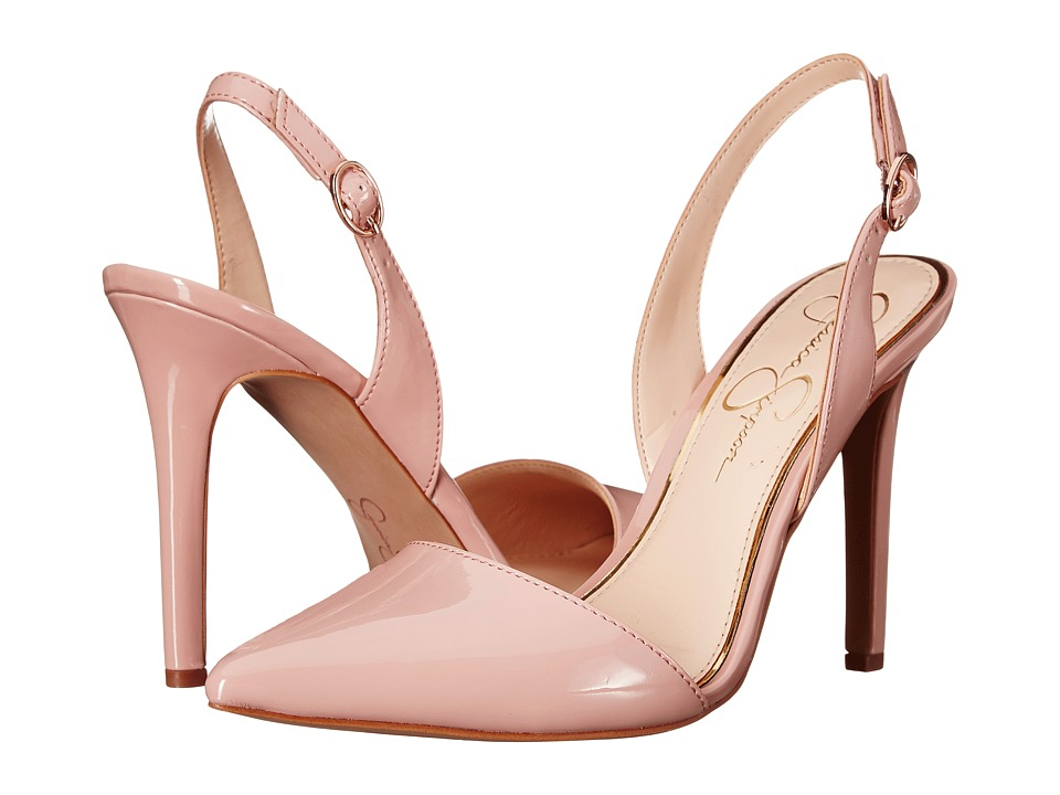 Jessica Simpson - Calvo (Nude Blush Patent) Women's Shoes