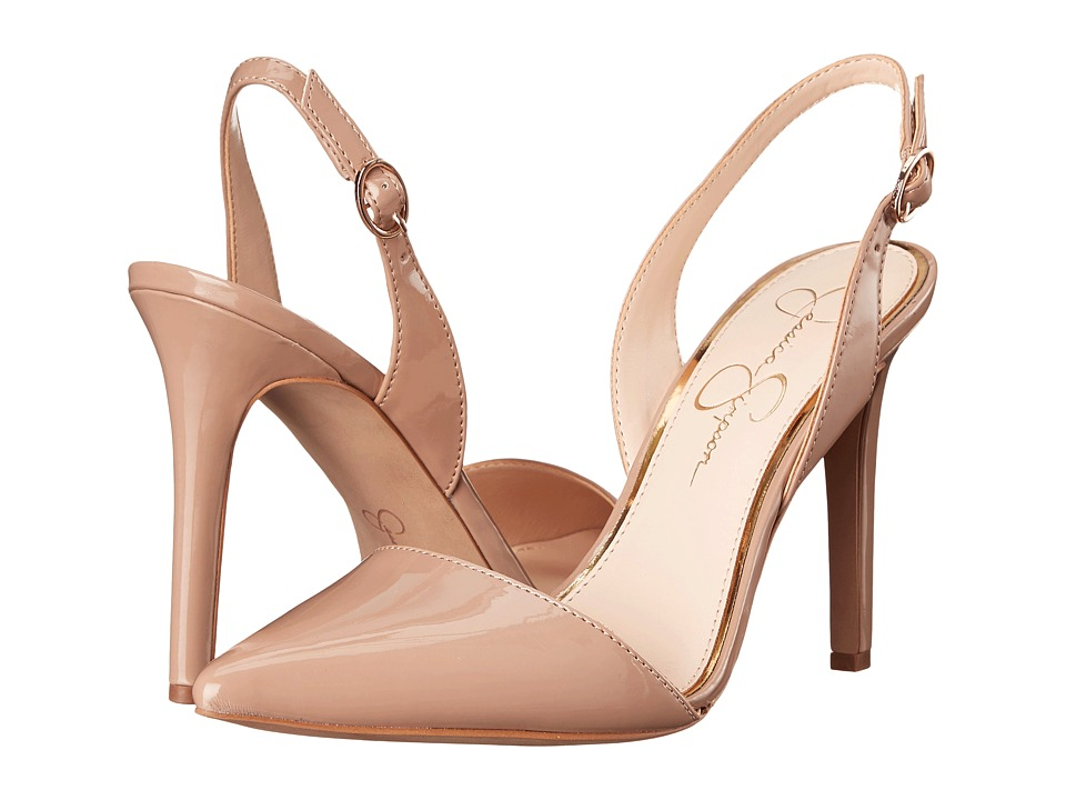 Jessica Simpson - Calvo (Nude Patent) Women's Shoes