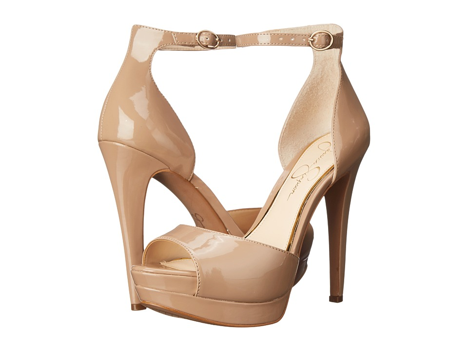Jessica Simpson - Sylvian (Nude Patent) Women's Shoes