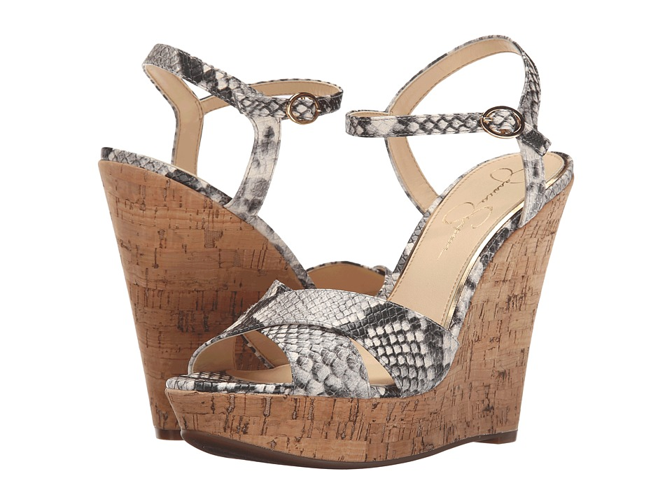 Jessica Simpson Isadoraa (Natural Snake) Women