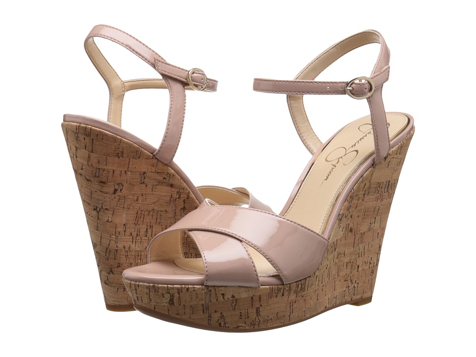 Jessica Simpson - Isadoraa (Nude Blush Patent) Women's Shoes