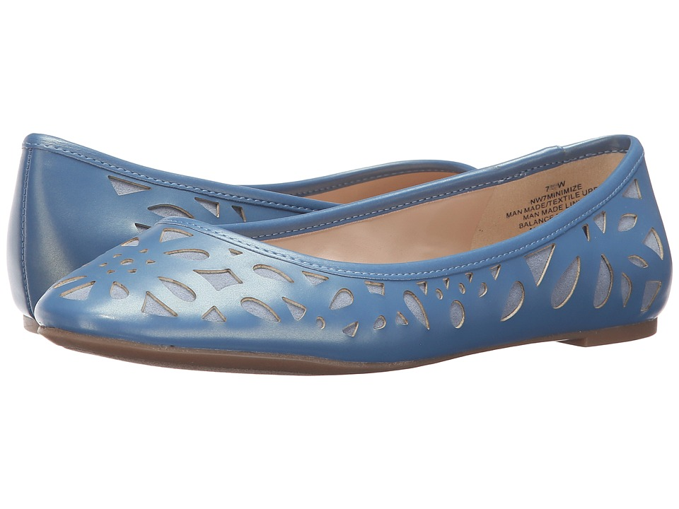Nine West - Minimize (Blue/Blue Synthetic) Women