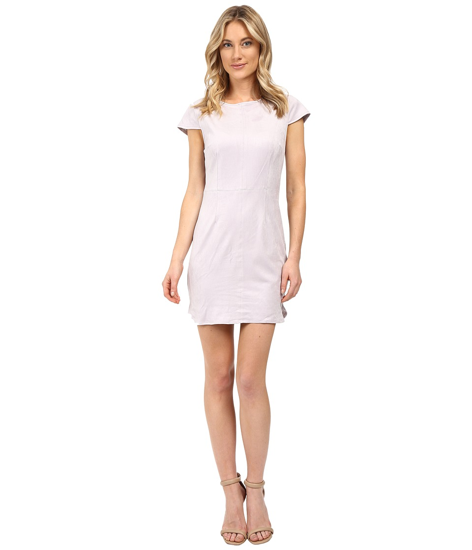 kensie Stretch Suede Dress KSNU7222 (Woodrose) Women