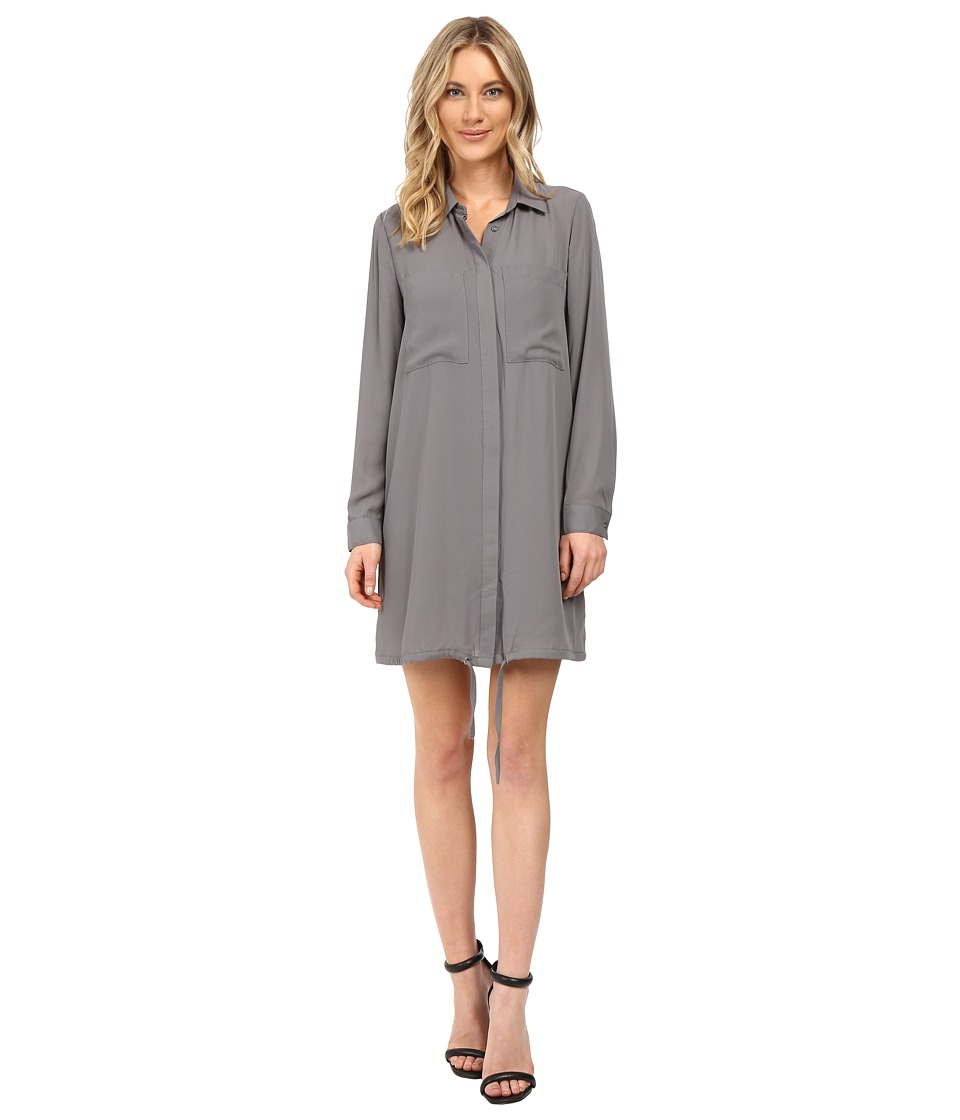 kensie Drapey Crepe Dress KS0K7733 (Titanium) Women