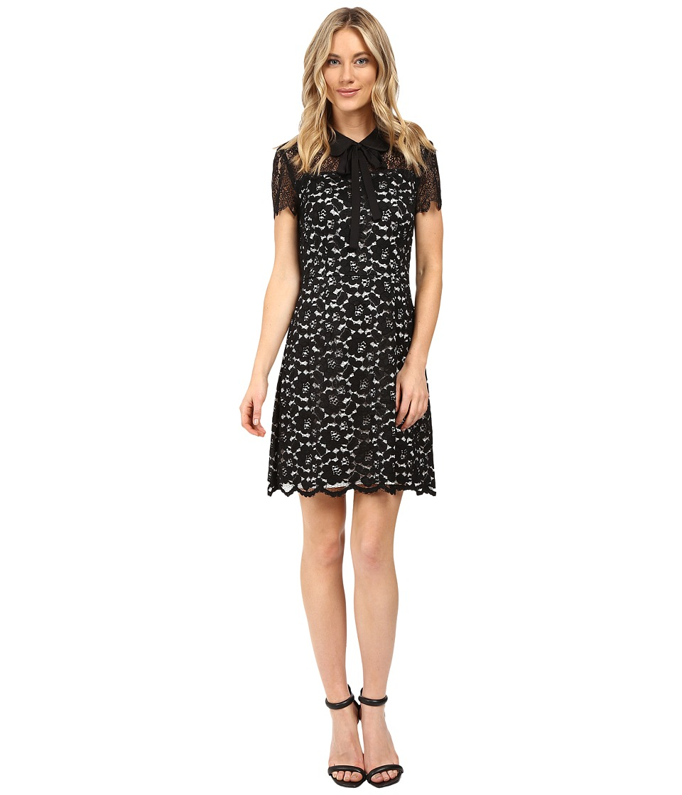 kensie Scattered Roses Dress KS0K7245 (Black Combo) Women