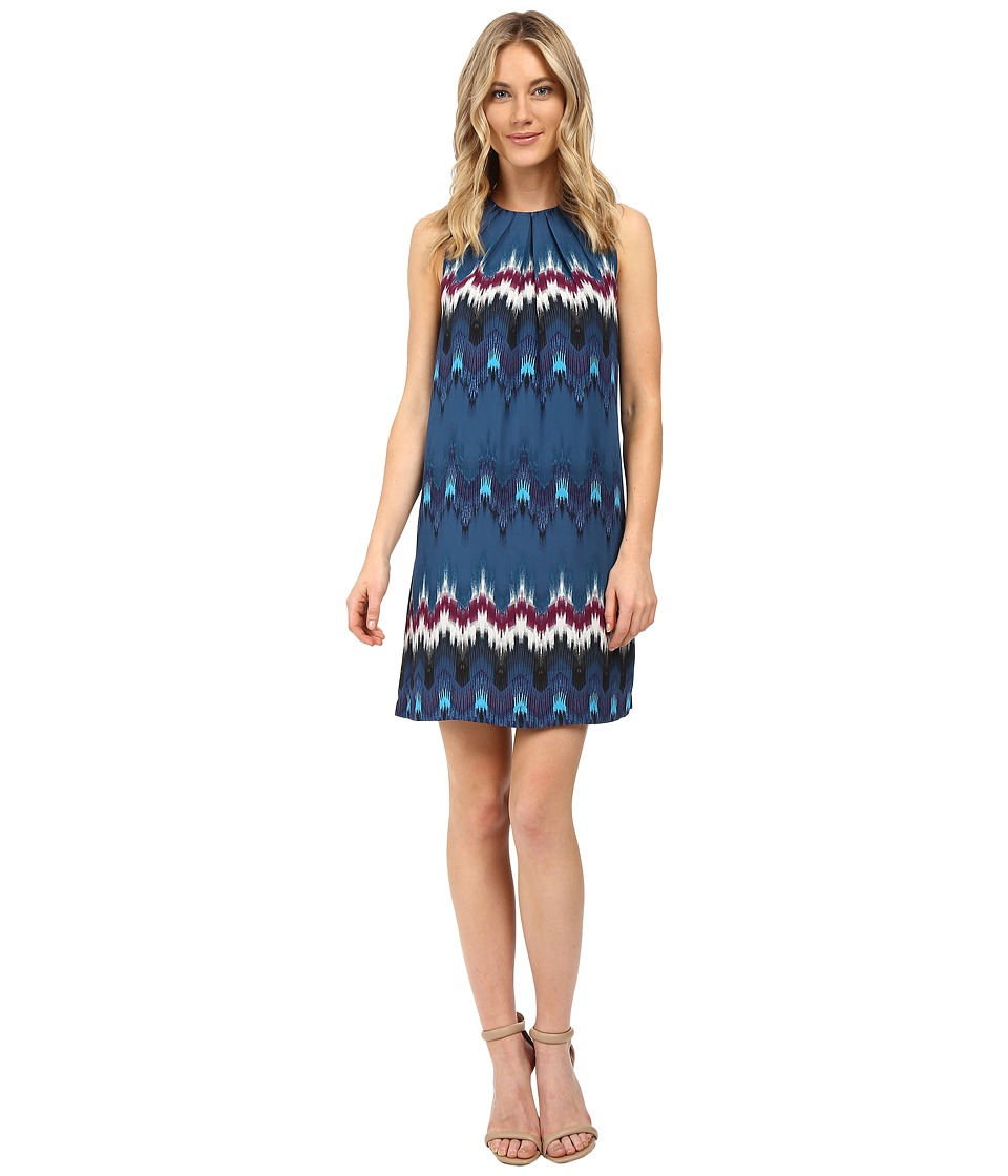 kensie Tribecca Dress KS0K7247 (Deep Ocean Combo) Women
