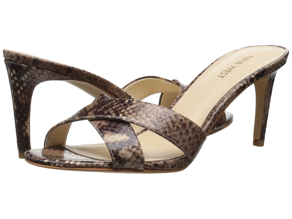 Nine West Allto (Dark Natural Multi Synthetic) Women