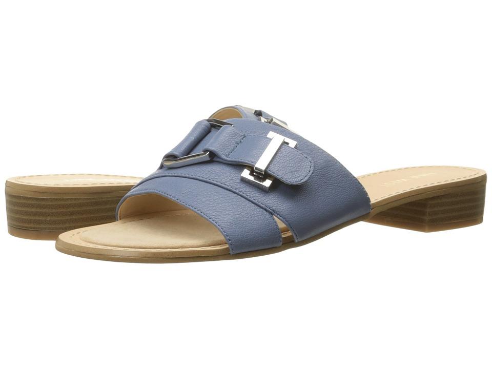 Nine West - Yanni (Medium Blue Leather) Women's Shoes