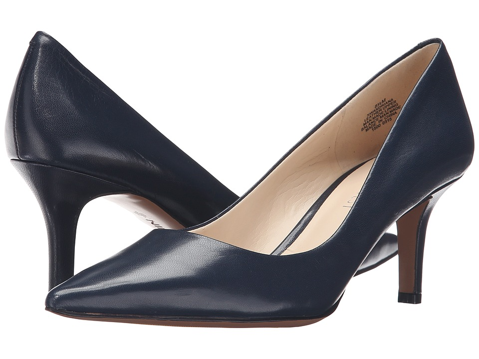 Nine West - Andriana (Navy Leather) Women's Shoes