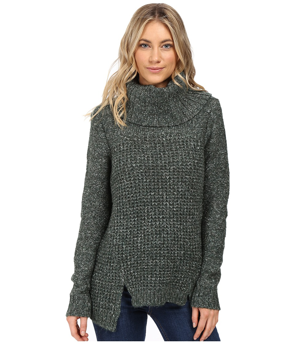 kensie - Comfy Knit Sweater KS0K5410 (Deep Forest Combo) Women's Sweater