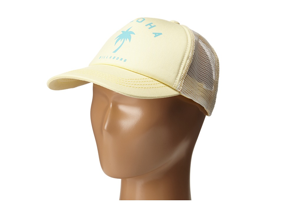 Billabong - Yoloha Trucker (Big Kids) (Pineapple) Caps