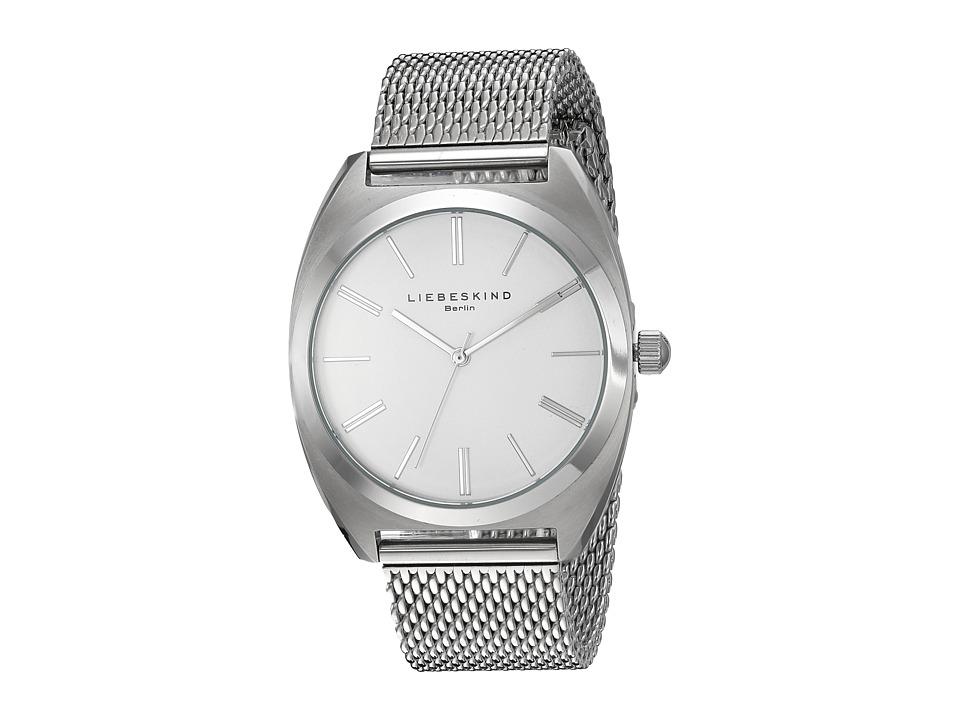 Liebeskind - LT-0029-MQ (Silver Matte) Watches