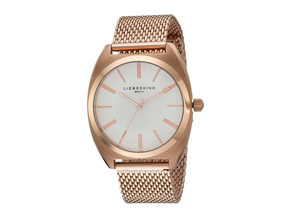 Liebeskind - LT-0029-MQ (Rose Gold) Watches