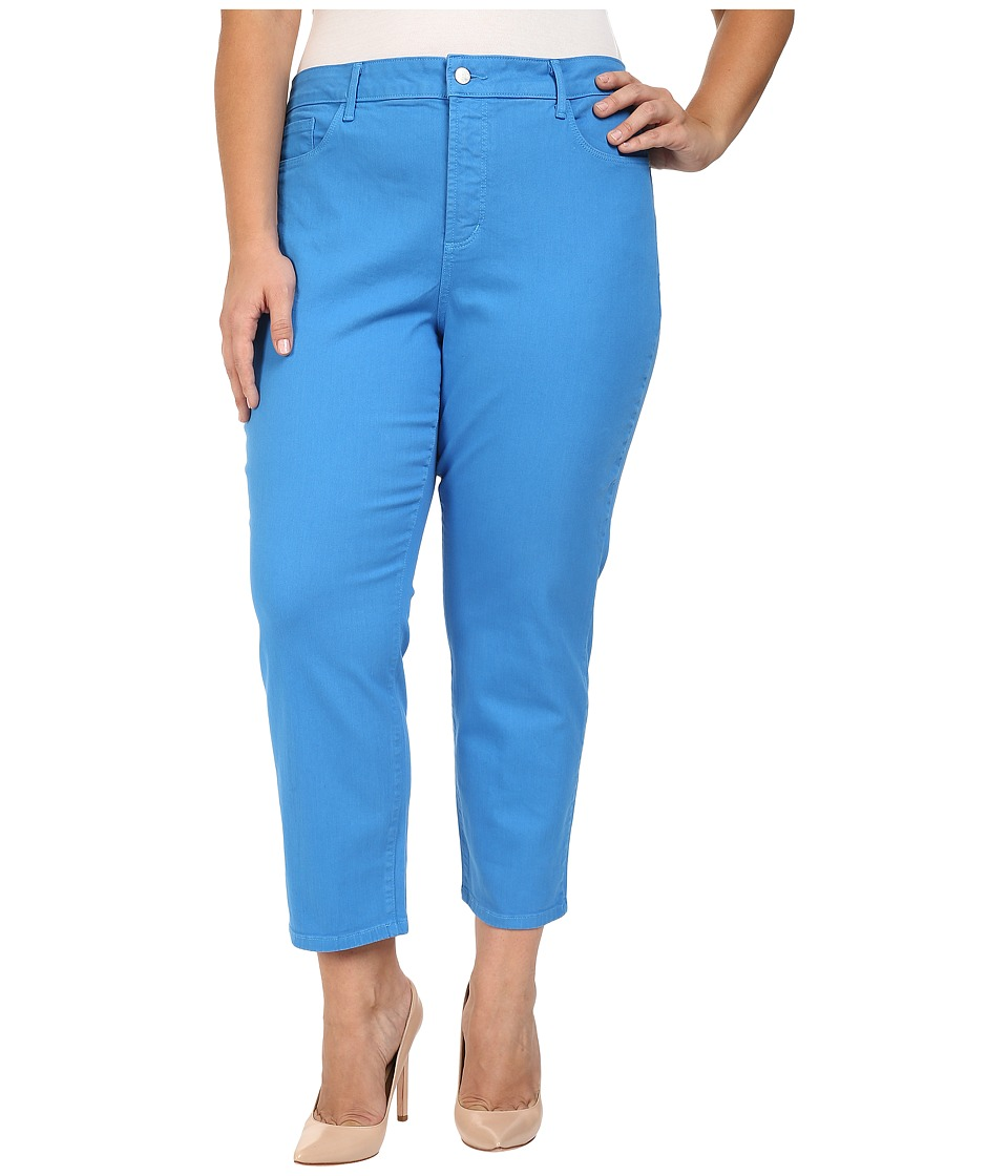NYDJ Plus Size - Plus Size Ira Relaxed Ankle Jeans in Chateau Blue (Chateau Blue) Women's Jeans
