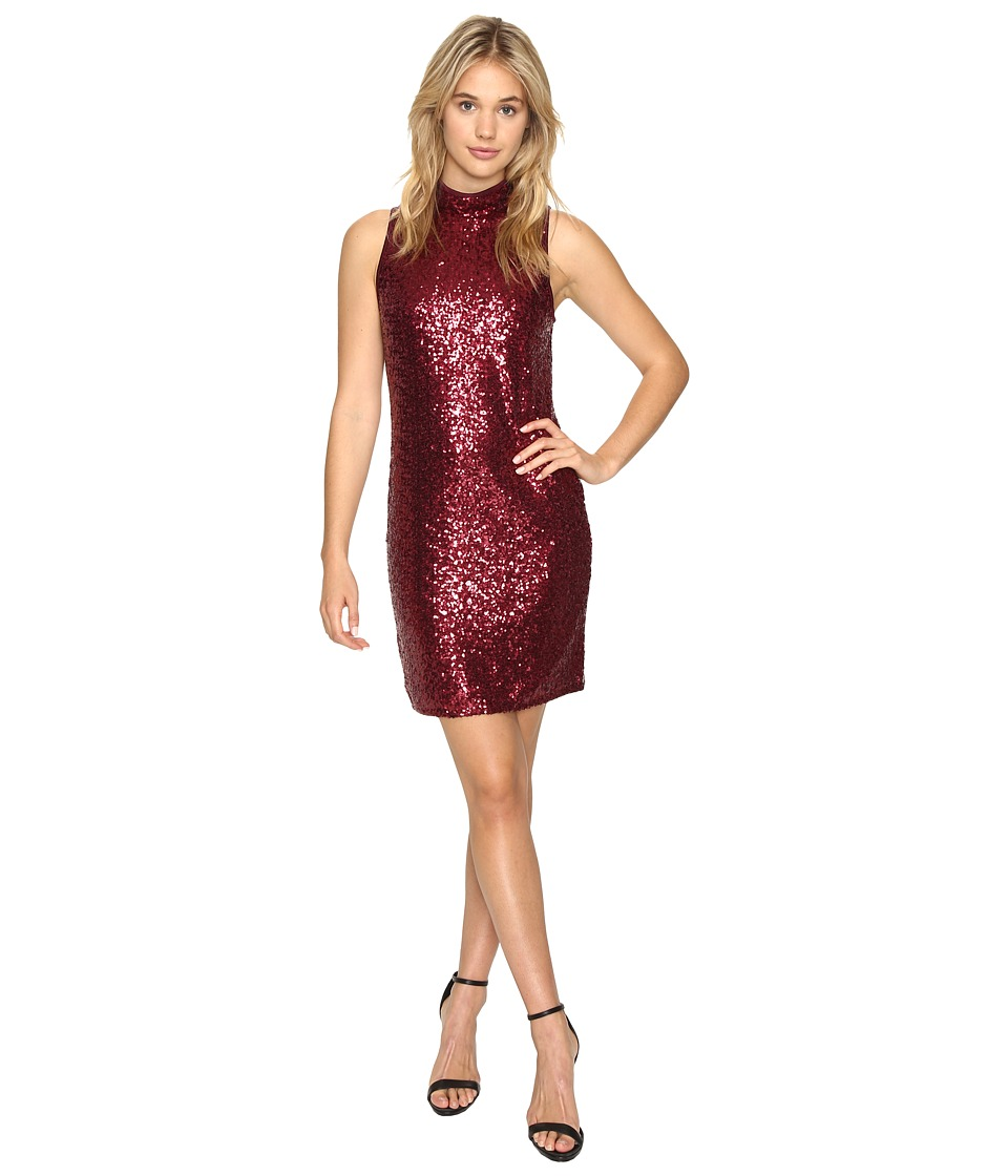 kensie Dense Sequin Jersey Dress KSNK7252 (Wildberry) Women