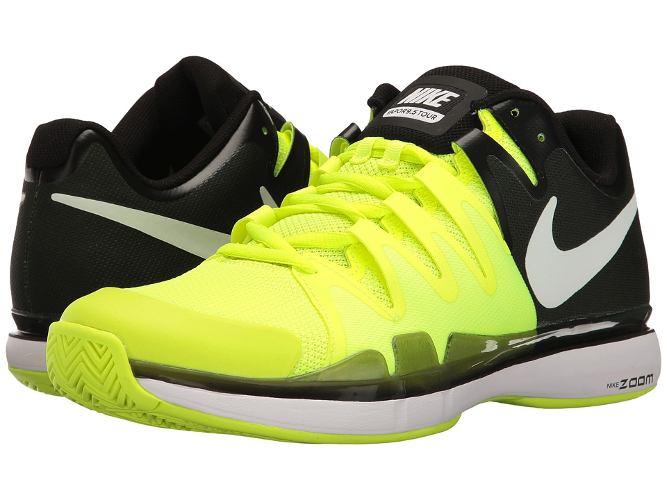 Nike - Zoom Vapor 9.5 Tour (Volt/White/Black 1) Men's Tennis Shoes