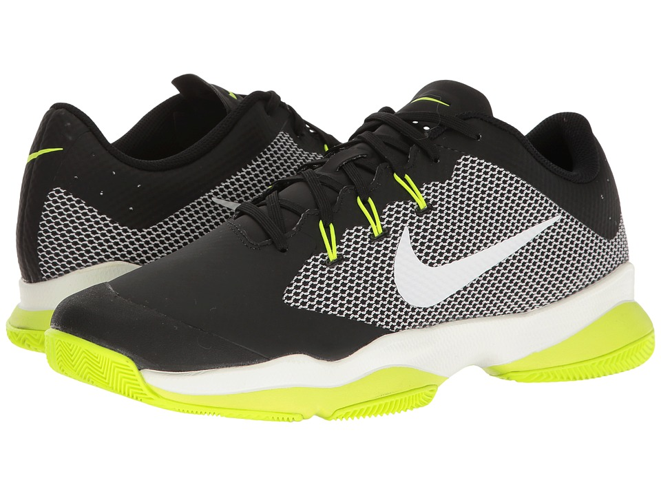Nike - Air Zoom Ultra (Black/White/Volt) Men's Tennis Shoes