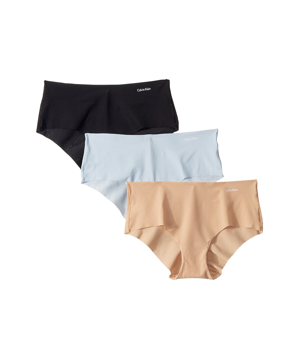 Calvin Klein Underwear - Invisibles 3-Pack Hipster (Multi 1) Women's Underwear