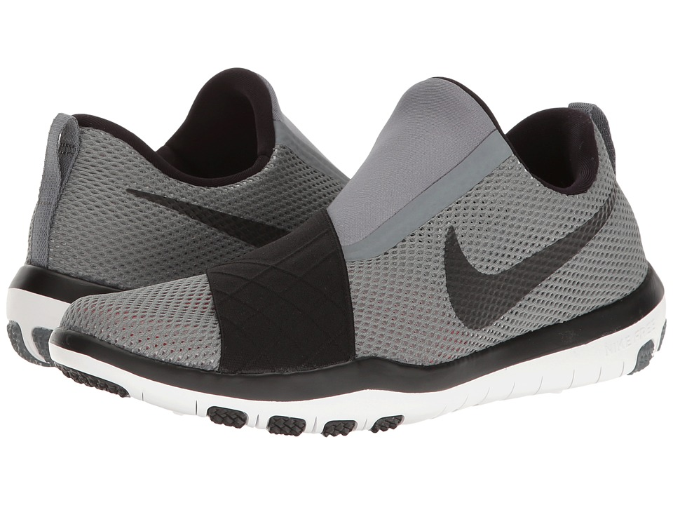 Nike - Free Connect (Cool Grey/Black/Pure Platinum/White) Women's Slip on Shoes