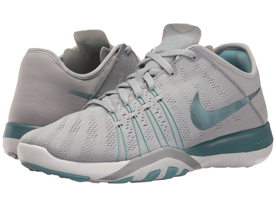 Nike - Free TR 6 (Wolf Grey/Smokey Blue/Mica Blue/White) Women's Cross Training Shoes