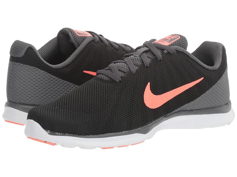 Nike - In-Season TR 6 (Black/Lava Glow/Dark Grey/White) Women's Cross Training Shoes