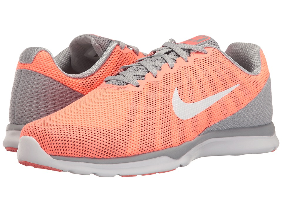 Nike - In-Season TR 6 (600 Lava Glow/White/Wolf Grey/Cool Grey) Women's Cross Training Shoes