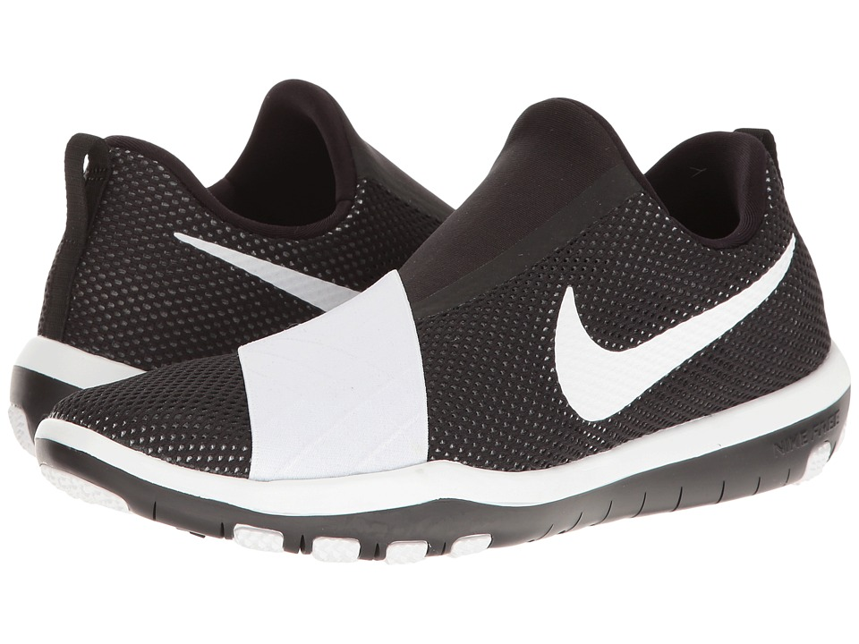 Nike - Free Connect (Black/White 1) Women's Slip on Shoes