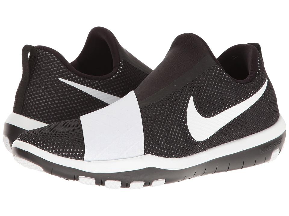 Nike - Free Connect (Black/White 1) Women's Slip on Shoes