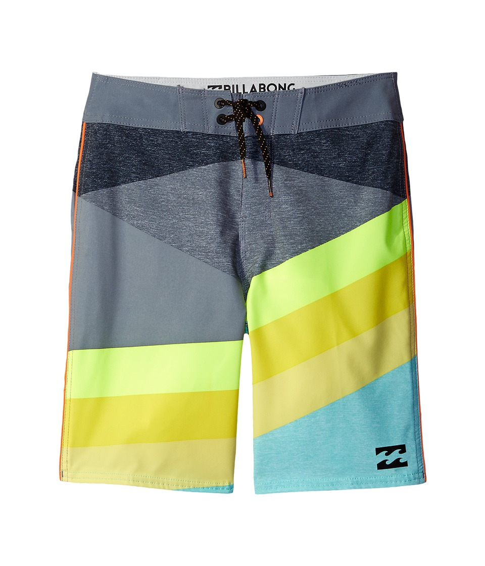 Billabong Kids - Slice X Boardshorts (Big Kids) (Mint) Boy's Swimwear