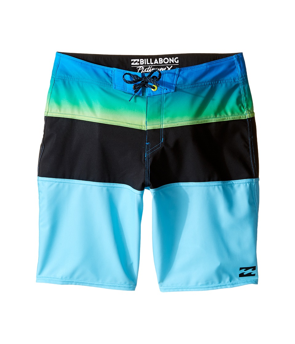 Billabong Kids - Tribong X Boardshorts (Big Kids) (Blue 1) Boy's Swimwear