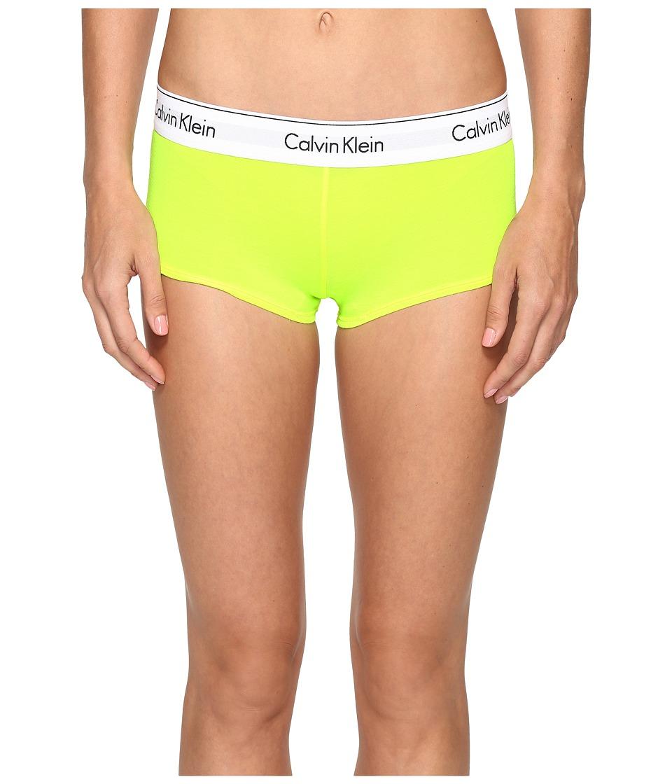 Calvin Klein Underwear - Modern Cotton Boyshorts (Bright Flash) Women's Underwear