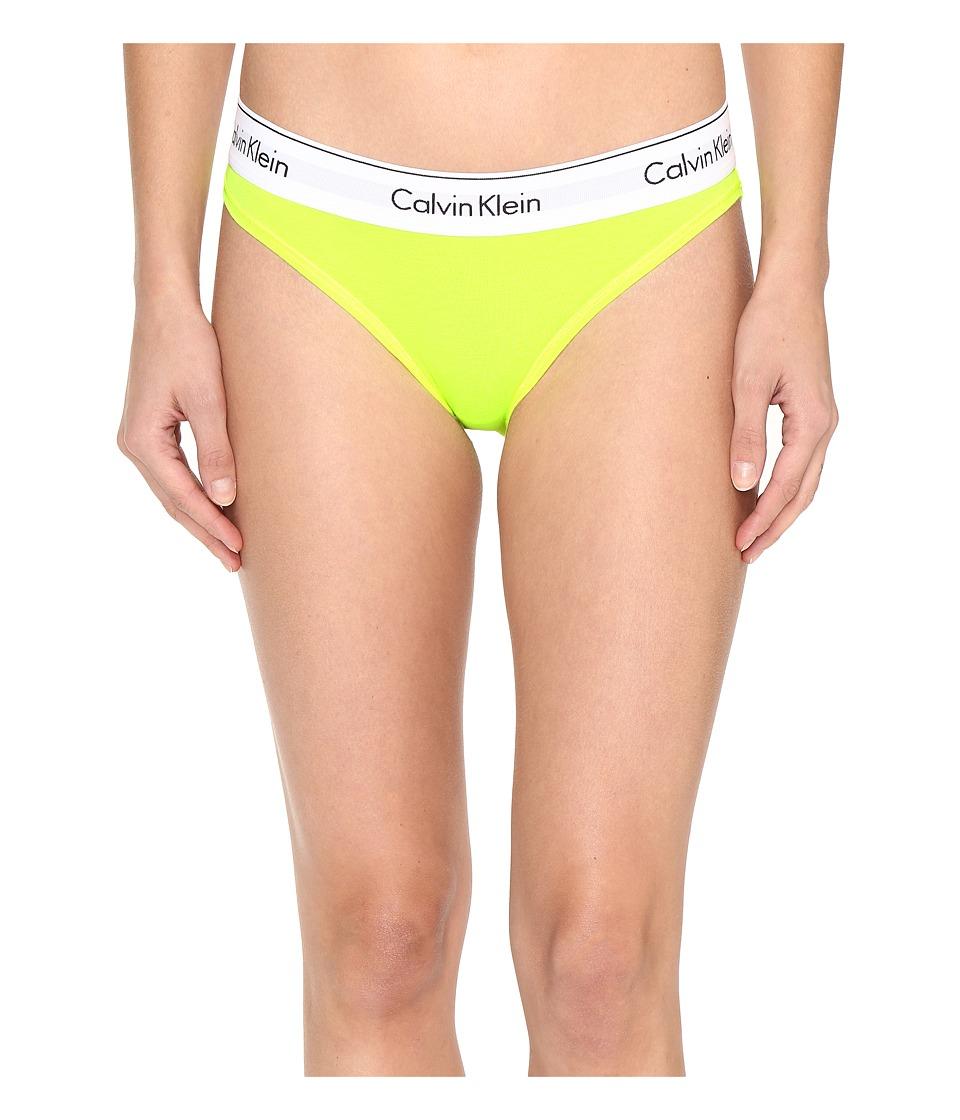 Calvin Klein Underwear - Modern Cotton Bikini (Bright Flash) Women's Underwear