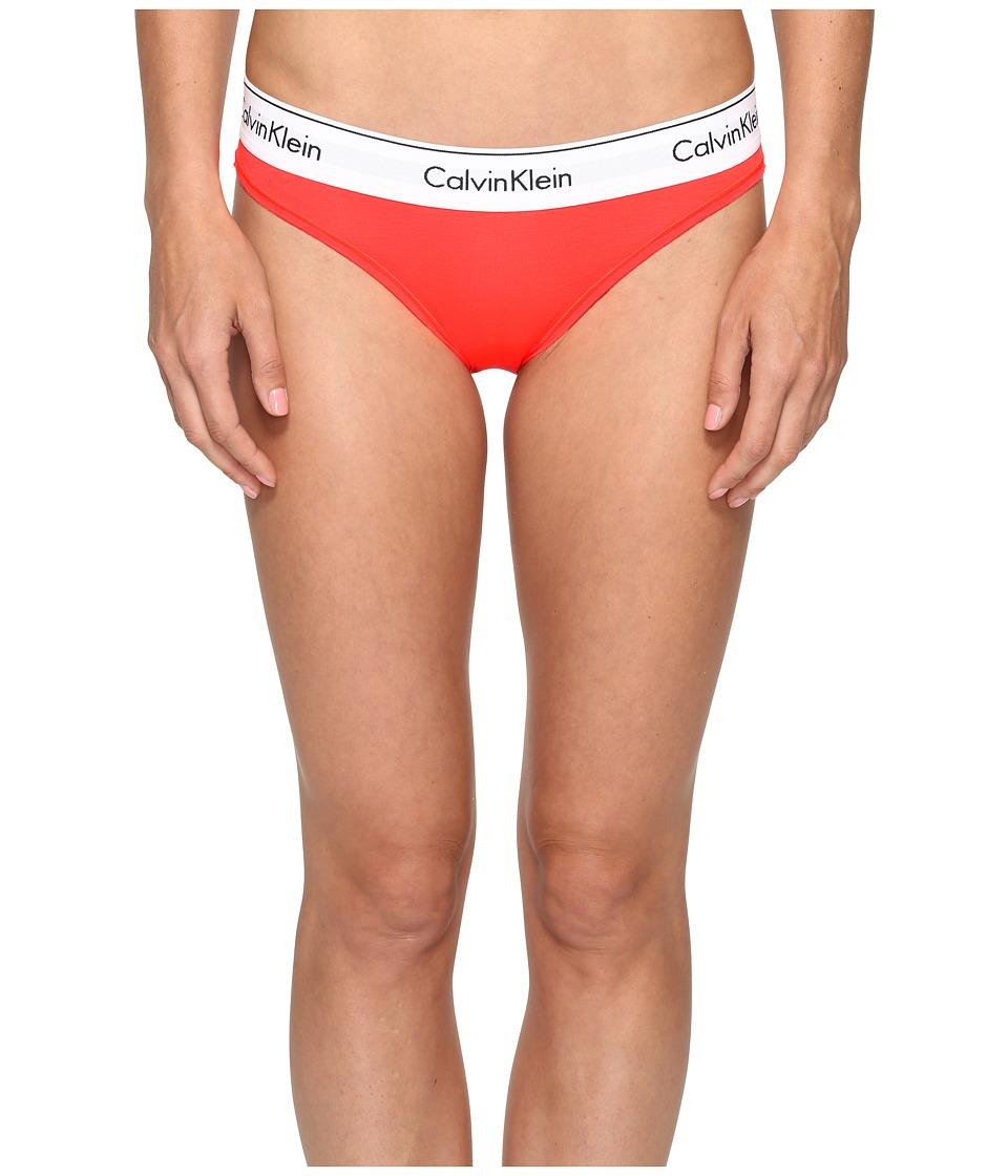 Calvin Klein Underwear - Modern Cotton Bikini (Bright Nectar) Women's Underwear
