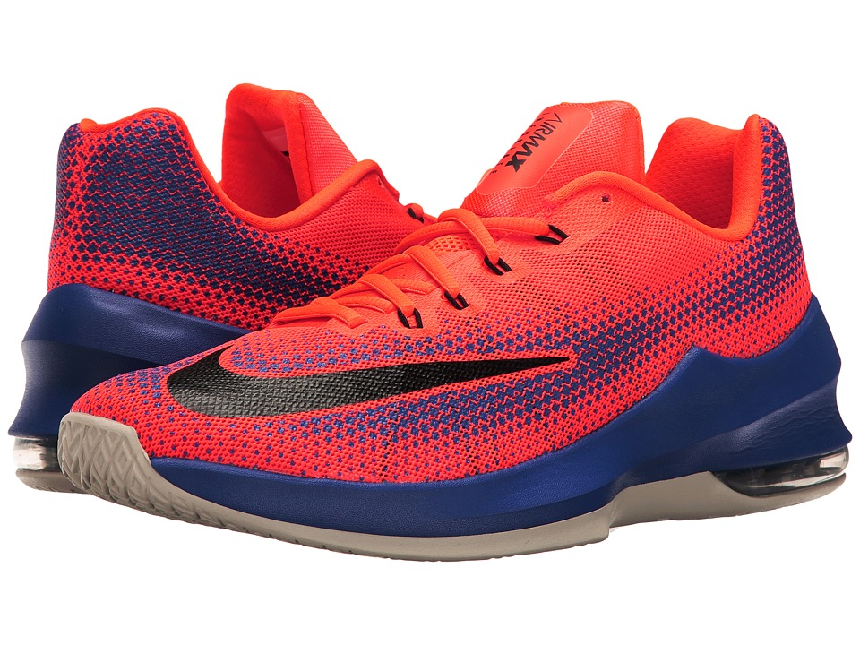 Nike - Air Max Infuriate Low (University Red/White/Black/Total Crimson) Men's Basketball Shoes