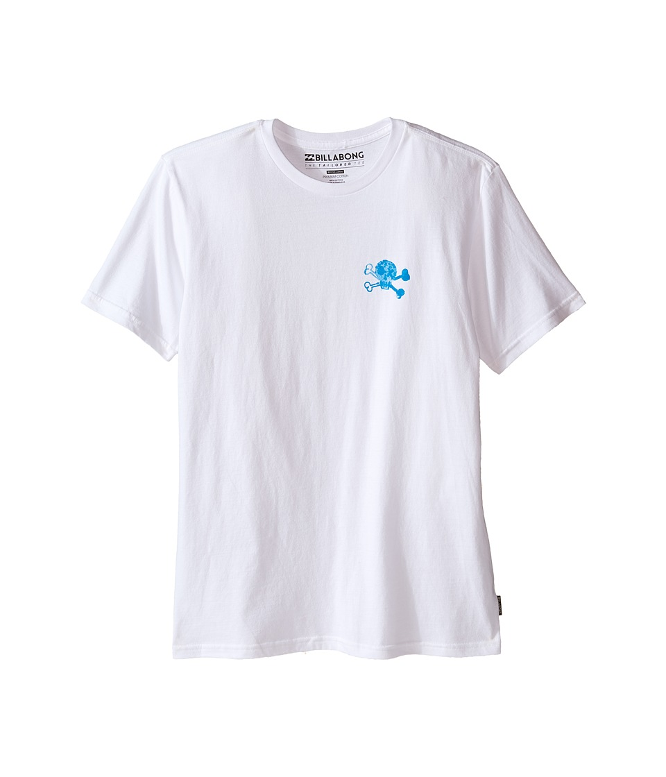 Billabong Kids - Billy Shirt (Big Kids) (White) Boy's Clothing