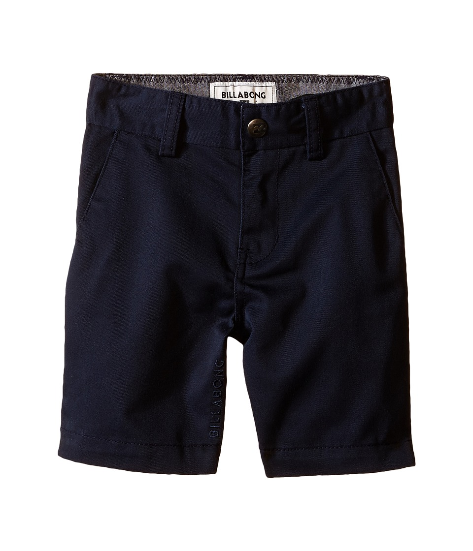 Billabong Kids - Carter Walkshorts (Toddler/Little Kids) (Indigo) Boy's Shorts